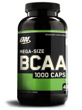 Optimum BCAA (400 Caps)