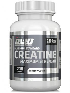 OWN Creatine Maximum Strength (200 Caps)