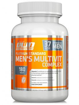 OWN Mens Multivit Complex (180)