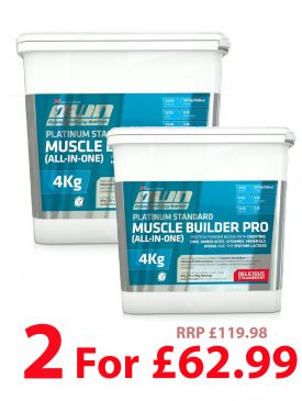 2 for £62.99 OWN Muscle Builder All in One (4kg)