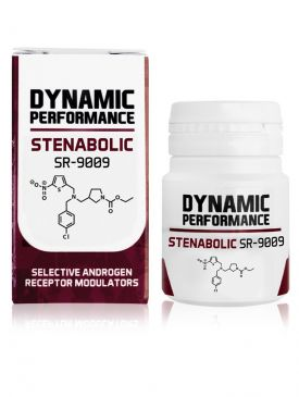 Dynamic Performance Stenabolic SR9009 (60 Tablets)
