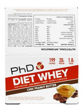 PhD Diet Whey Bar Single Bar