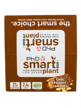PhD Nutrition Smart Plant Bar (12 x 64g)