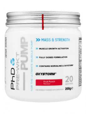 PhD Nutrition Pre-WKT Pump Pre-Workout (20 Servings)