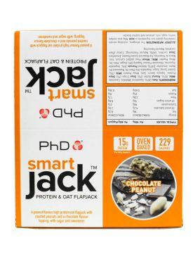 PhD Nutrition Smart Jack Protein & Oat Flapjack (12x60g)