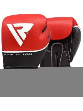 RDX T9 Leather Boxing Gloves