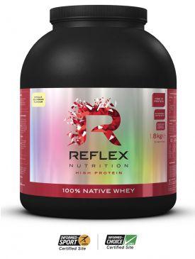 Reflex 100% Native Whey (1.8kg)