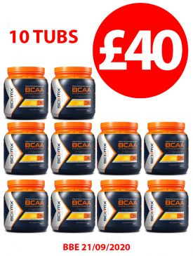 10 FOR £40 - Sci-MX BCAA Intra Workout - Mango - BBE 21/09/2020