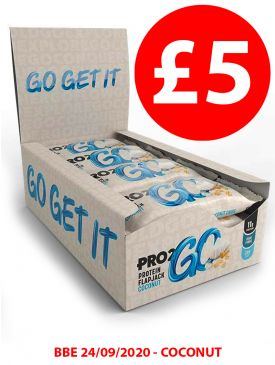 £5 Special - Sci-MX Pro2Go Flapjack - Coconut - BBE 24/9/2020