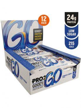 Sci-MX Pro 2 Go Gooey Protein Bar (12 x 60g)