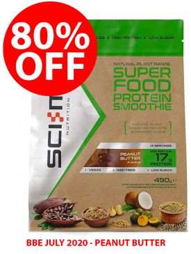 80% OFF - Sci-MX Superfood Protein Smoothie (490g) - BBE 31/07/20