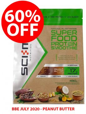 60% OFF - Sci-MX Superfood Protein Smoothie (490g) - BBE 31/07/20