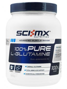 Sci-MX 100% Pure Glutamine (500g)
