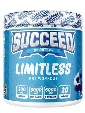 Succeed Limitless Pre-Workout (30 Servings)