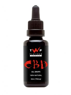 The Warrior Project CBD Oil (30ml)
