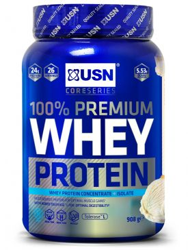 USN Blue Lab 100% Whey Protein (908g)
