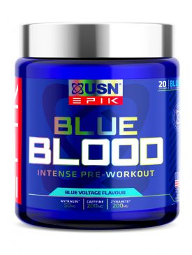 USN Epik Blue Blood Pre-Workout (380g)