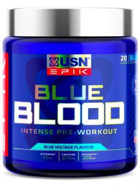USN Epik Blue Blood Pre-Workout (380g)