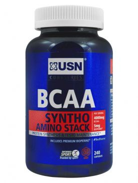 USN BCAA Syntho Stack (240 Caps)