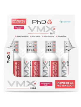 PhD VMX2 Pre-Workout Shots (12x60ml)