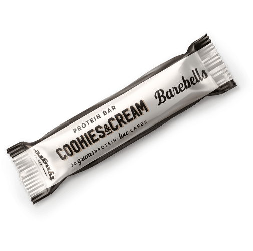 Barebell Protein Bar Cookies and Cream