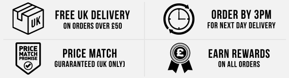Free delivery over £50 - Order by 3pm for next day delivery - Price Match Guaranteed - Rewards
